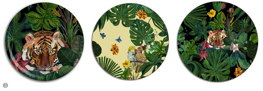 Tableware to Give Your Alfresco Table a Trendy Tropical Vibe