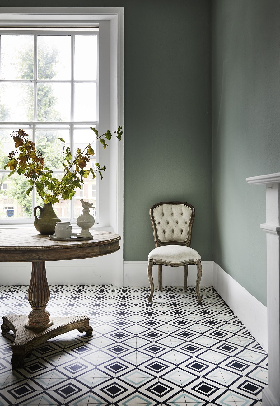Fake It With Patterned Vinyl Floor Tiles
