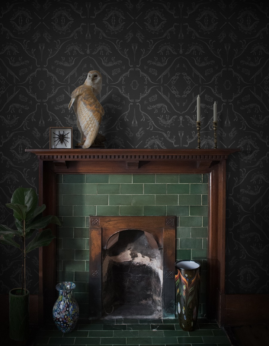 Introducing Divine Savages and Their Ultra Glamorous Wallpaper Designs