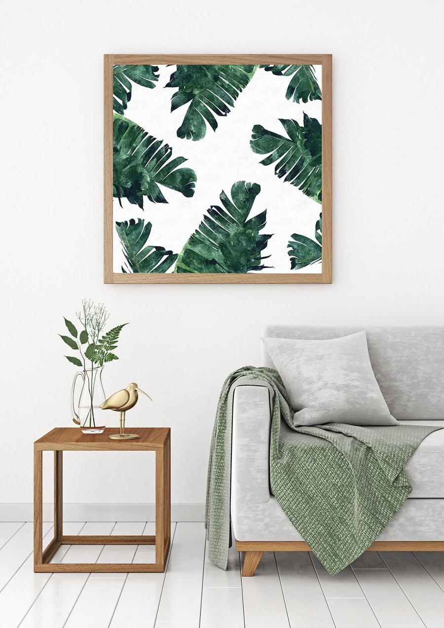 Not a Gallery Wall - Arrange art over pieces of furniture
