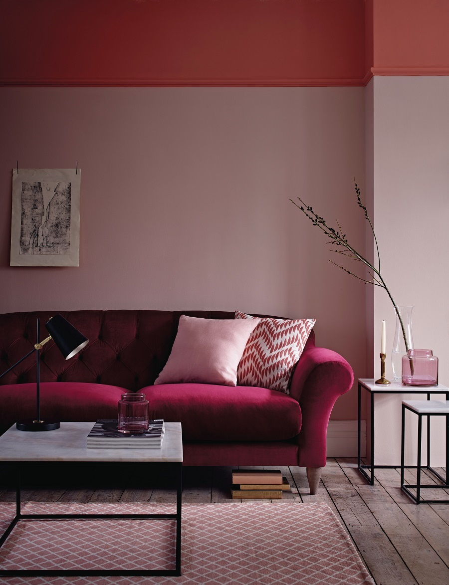 The Growing Popularity of the Half Painted Wall