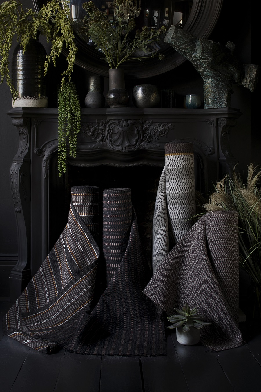Be Seduced By The Dark Side of Abigail Ahern's New Rugs and Runners