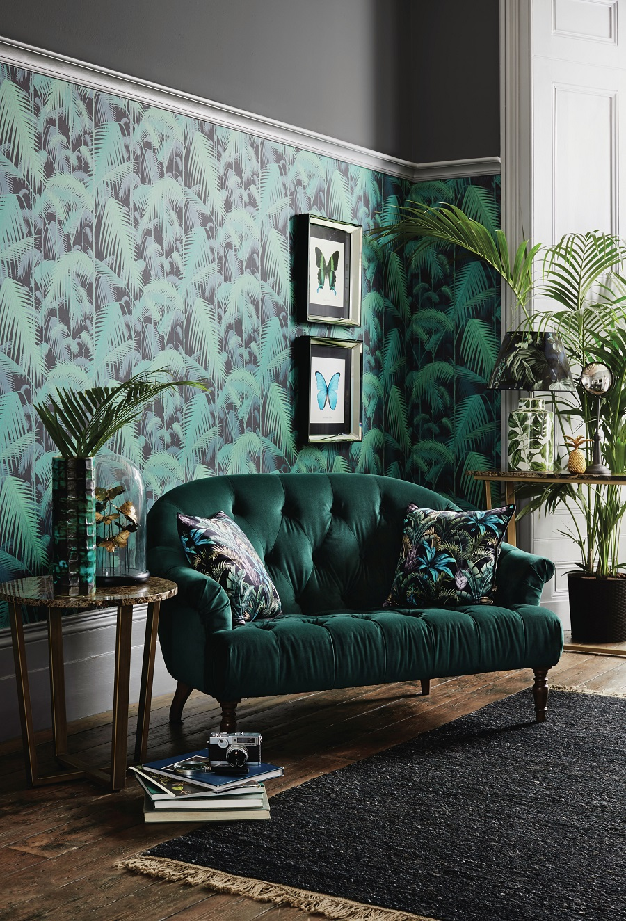How to Master the Art of the Moodboard - the finished room