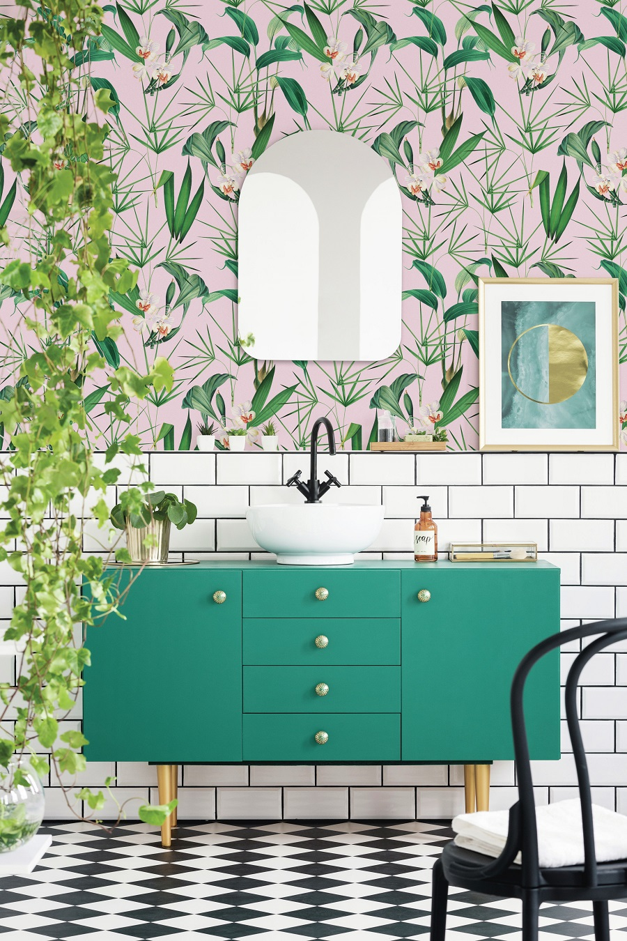 A Palm Springs Inspired Bathroom - Get The Look