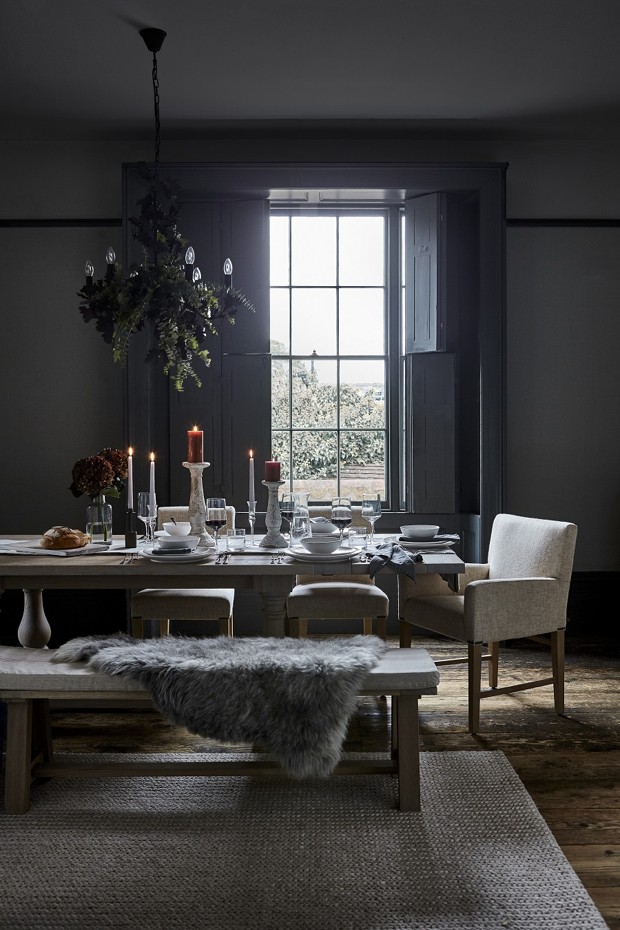 A Cosy Winter Dining Room - Get The Look
