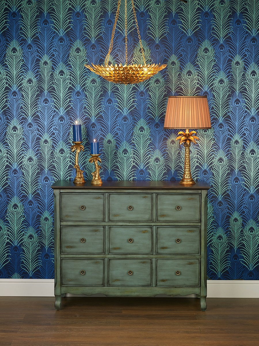 Trend Alert The Exotic Peacock Comes Home