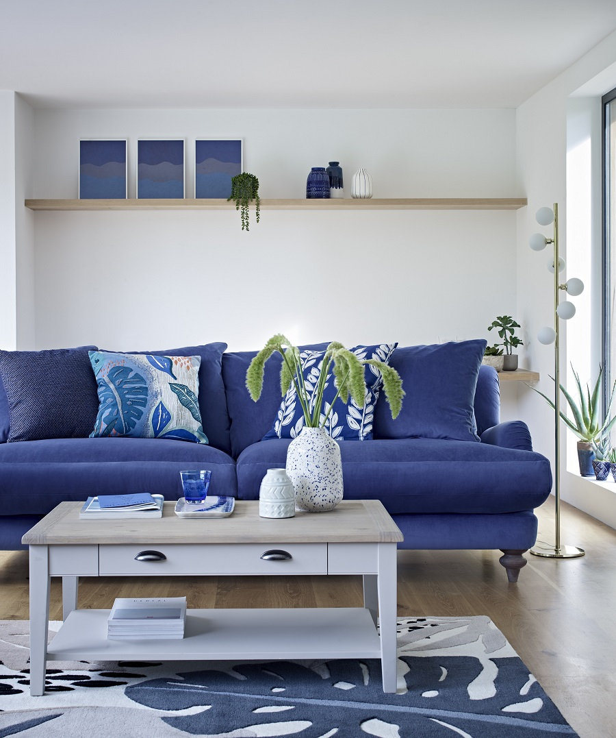 Two Bright and Cheerful Sitting Rooms and How to Get The Look