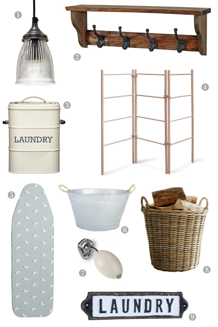 A Beautiful Country Style Laundry Room and How to Get the Look