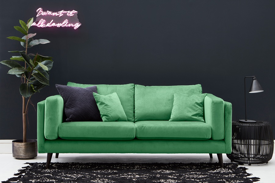 Trends - Coloured Sofas and How to Decorate Around Them