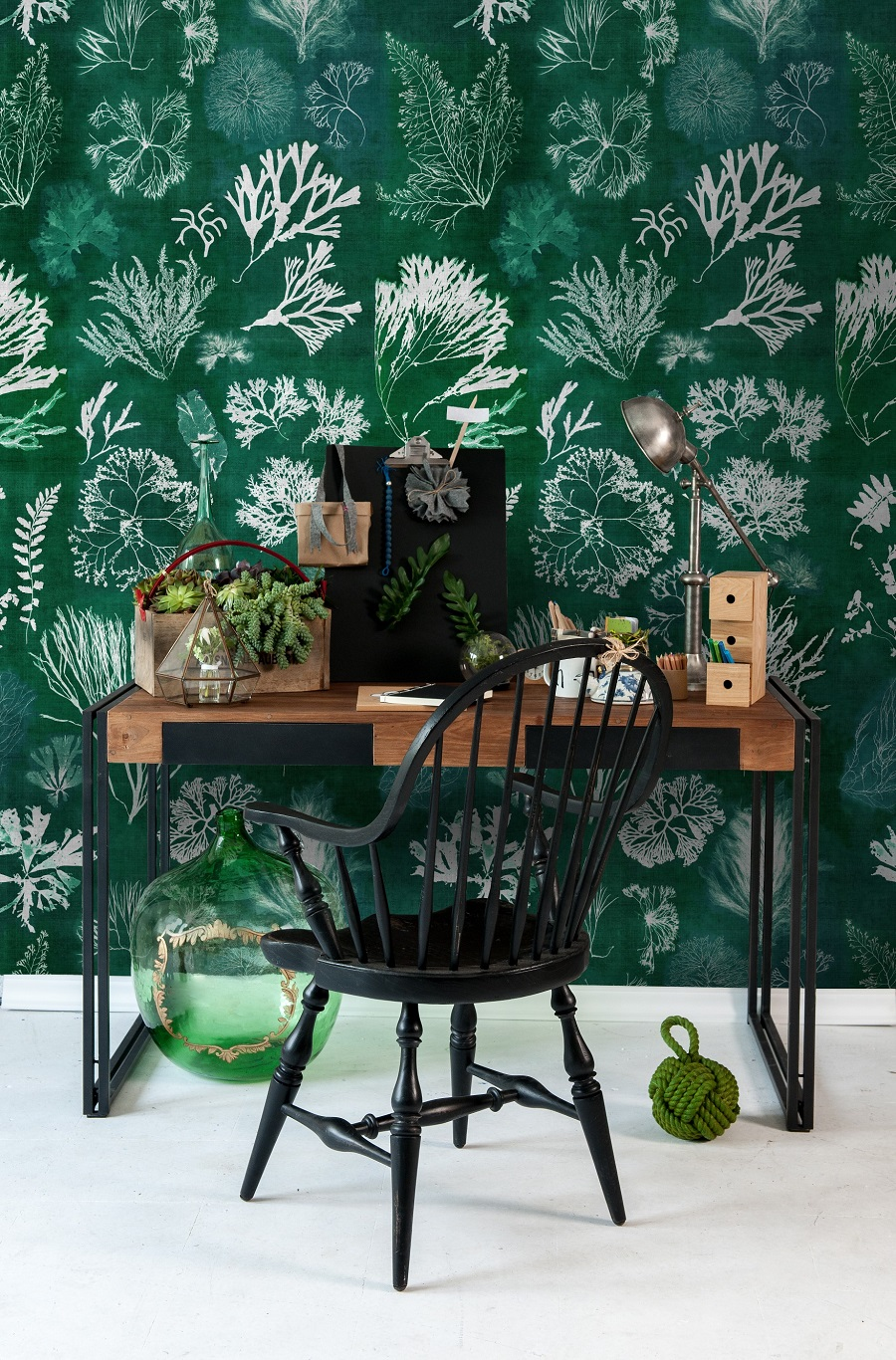 A Botanists Retreat and How to Get The Look