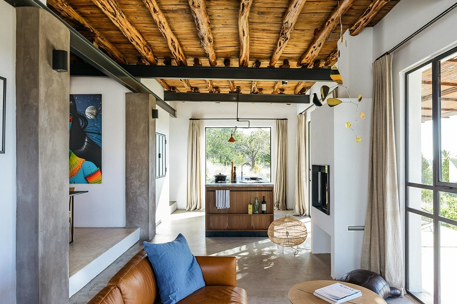 From an Old Abandoned Warehouse to a Dreamy Loft on the Island of Ibiza