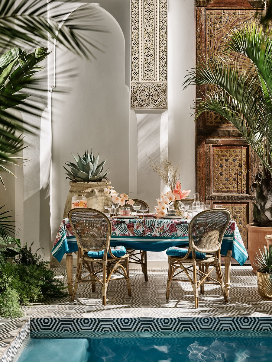How to Turn Your Backyard into a Moroccan Oasis