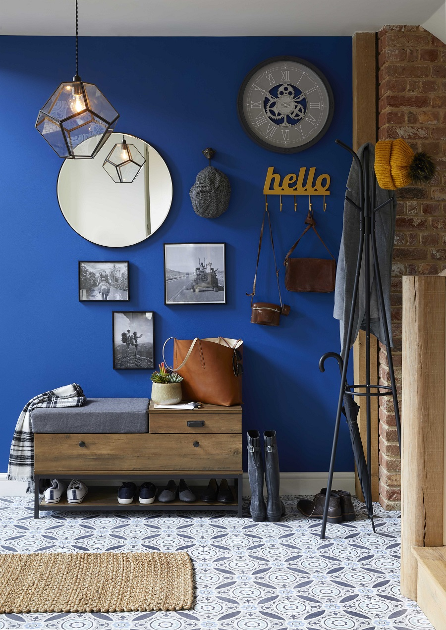 An Industrial Style Hallway and How to Get The Look