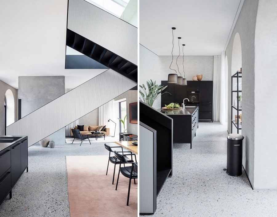 The Vipp Chimney House in Copenhagen