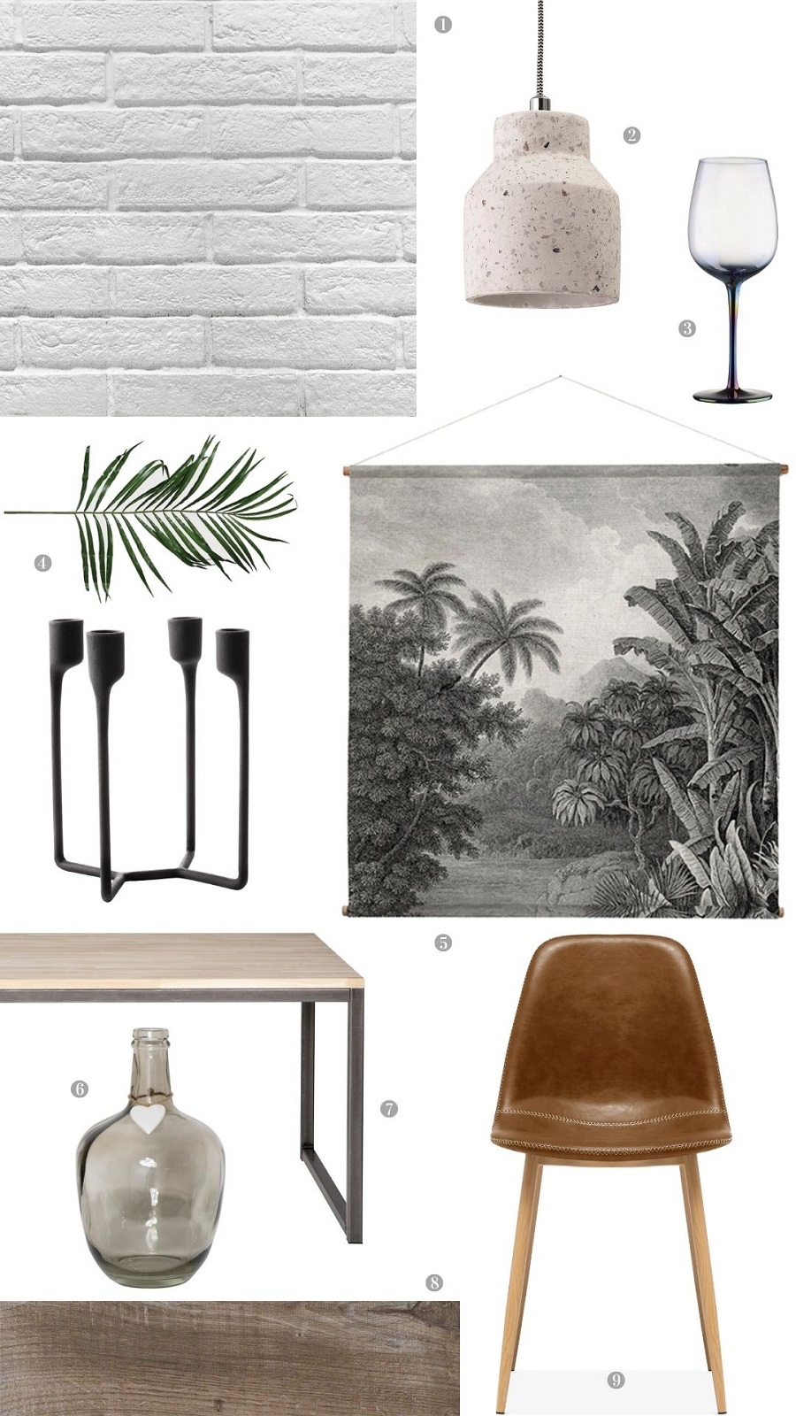 An Industrial Style Dining Room in Neutral Colours and How to Get The Look