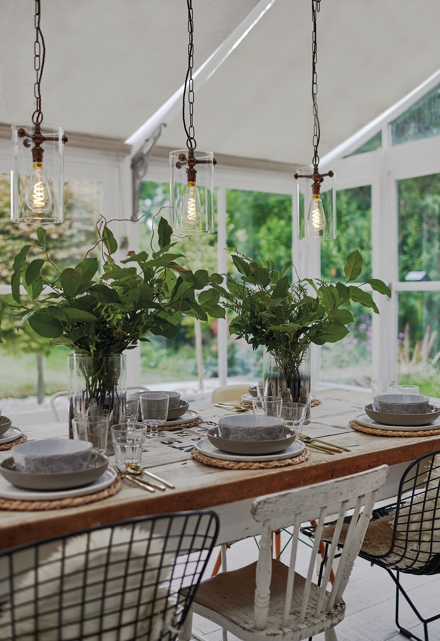 A Garden Room Dining Room and How to Get The Look