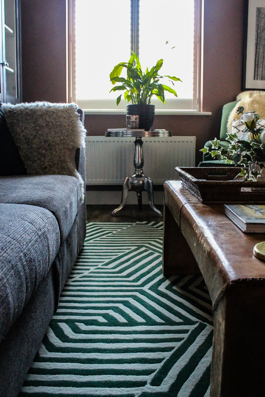 A Stunning New Bespoke Rug for the Living Room