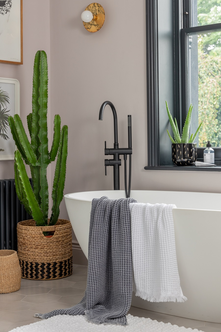 A Modern But Characterful Bathroom and How to Get The Look