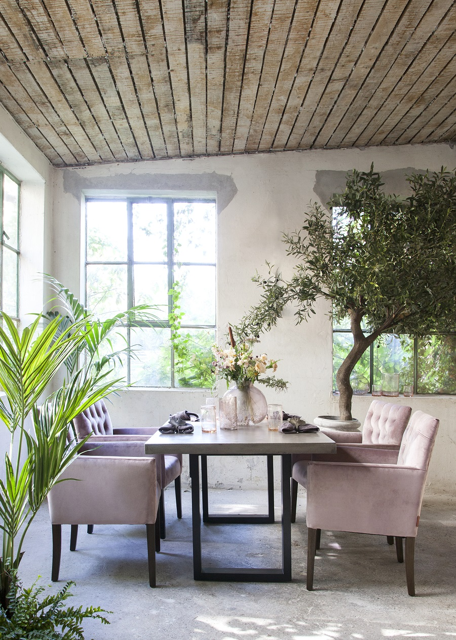 A Rough Luxe Dining Room and How to Get the Look