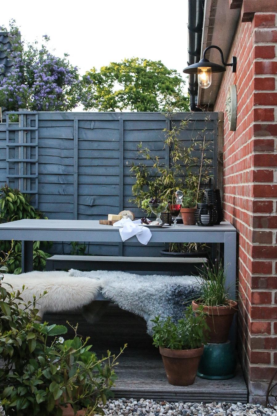 Create 'zones' within your garden