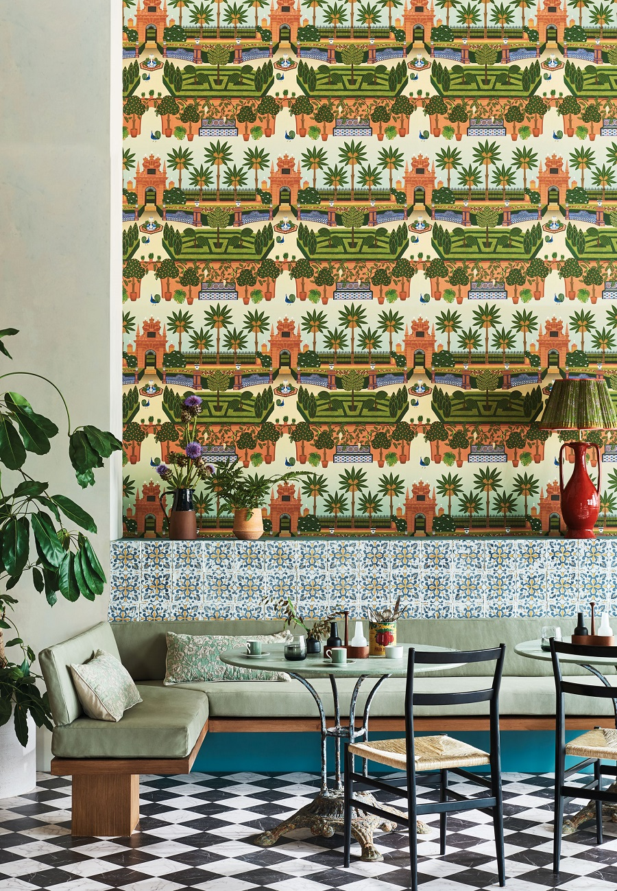 Wallpaper - The Seville Collection From Cole and Son