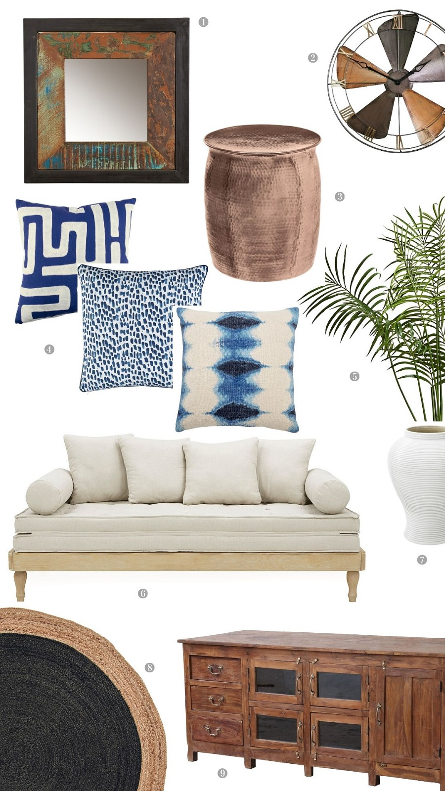 A Colonial Style Sitting Room and How to Get The Look (