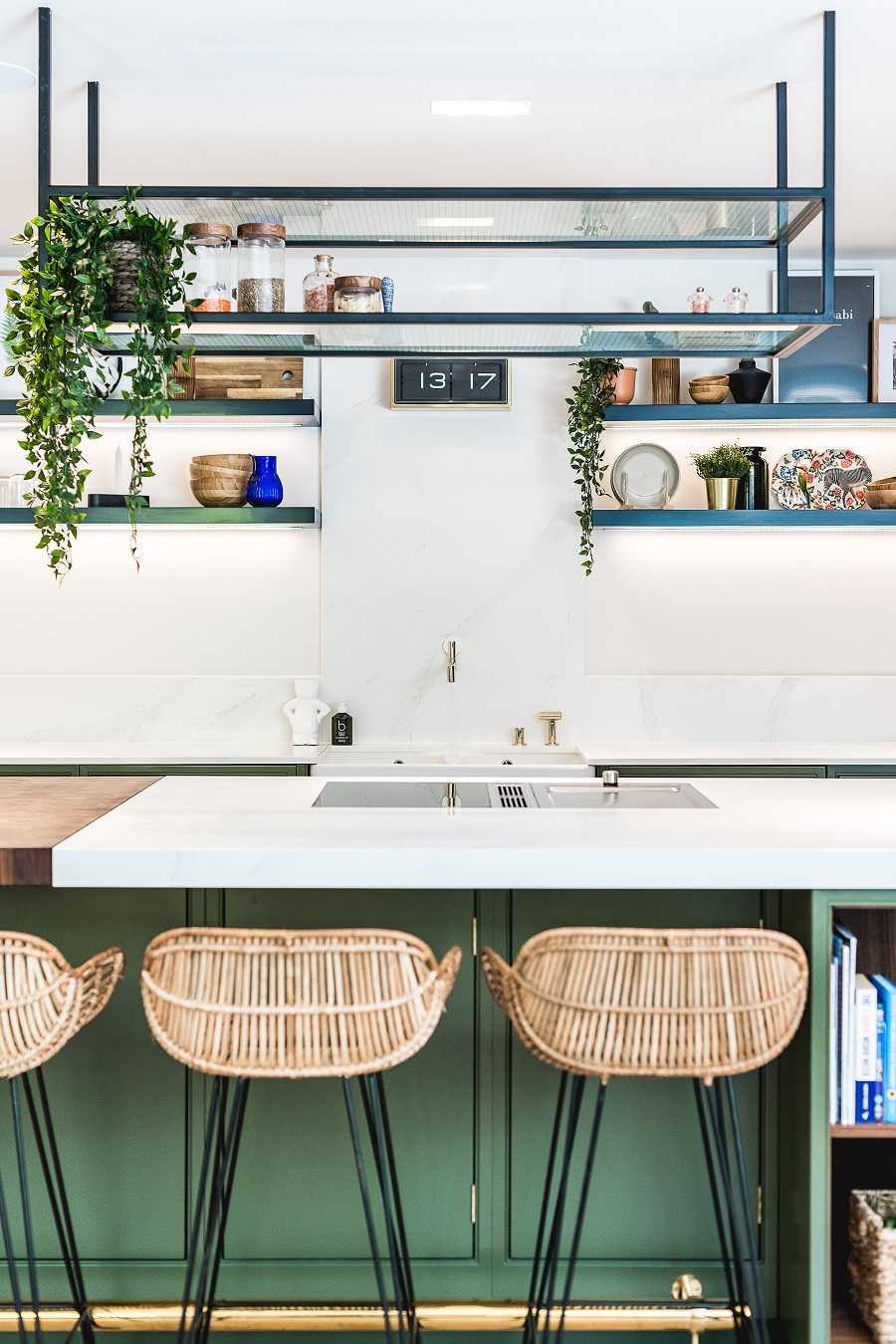 How to Inject Flair and Personality into a Contemporary Kitchen