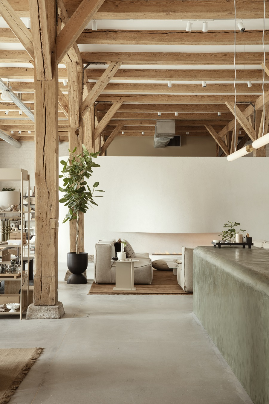 The Home of Ferm LIVING - Loft space living