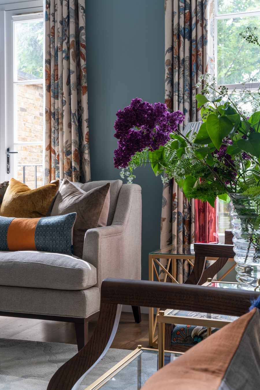 A London Townhouse Full of Warm Colours