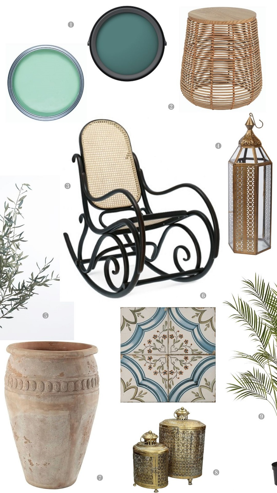 A Moroccan Inspired Garden Room and How to Get The Look