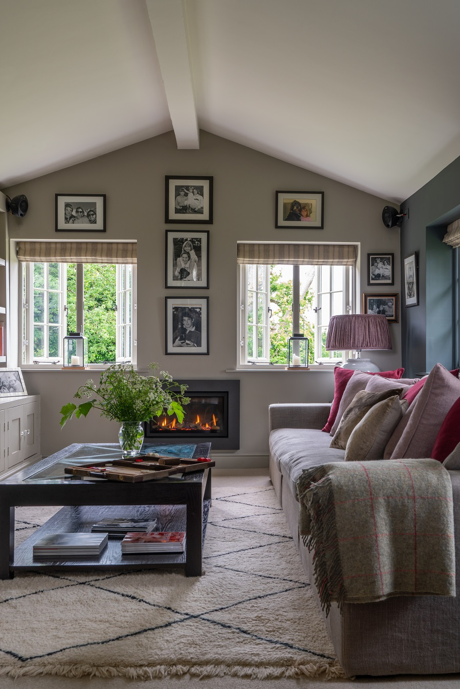 Comfy Modern Country Style in an Upside-Down House