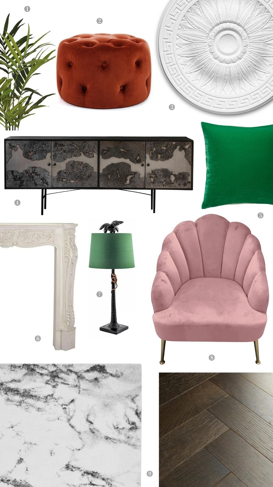 A Parisian Style Sitting Room and How to Get The Look