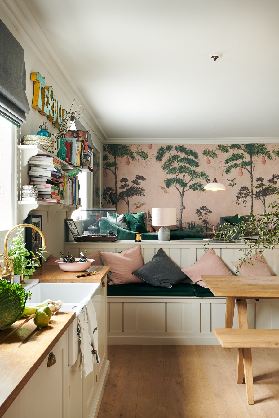 Zoe Ball's Beautiful New Kitchen