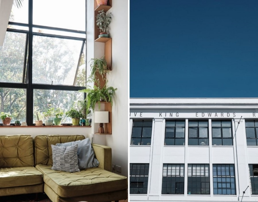 A Bijou Apartment in a Former Art Deco Clothing Factory