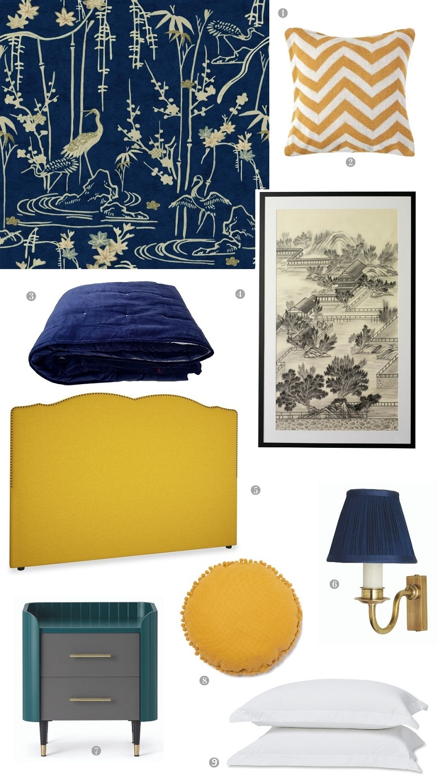 A Traditionally Styled Bedroom and How to Get The Look