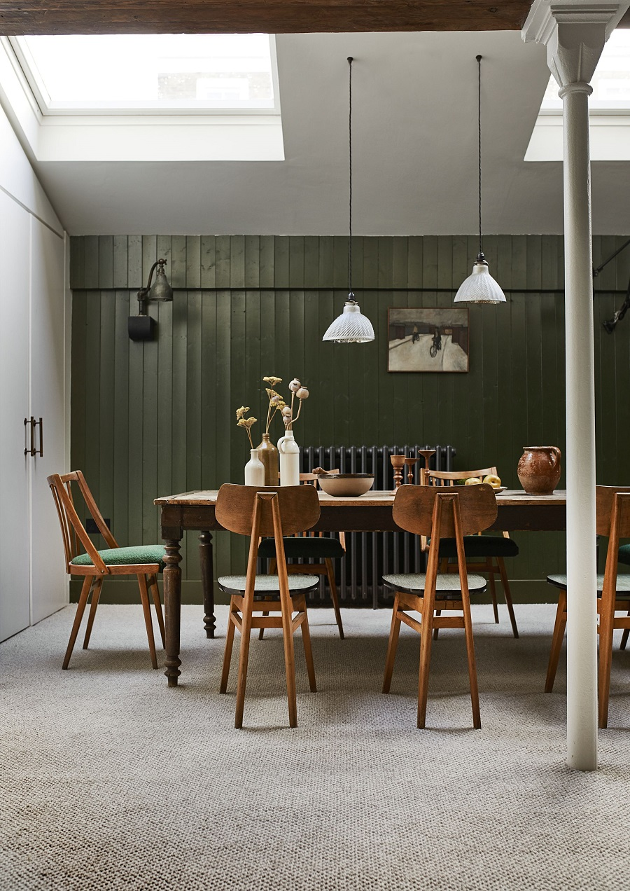 A Vintage Schoolhouse Inspired Dining Room and How to Get The Look