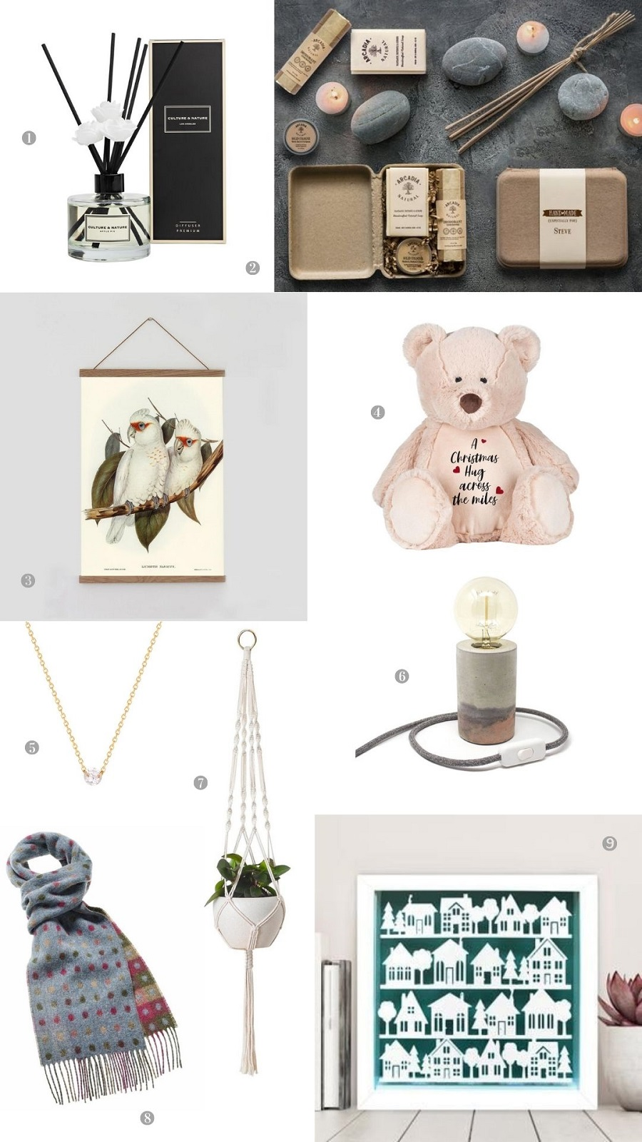 Over 50 Charming Christmas Gift Ideas Under £50