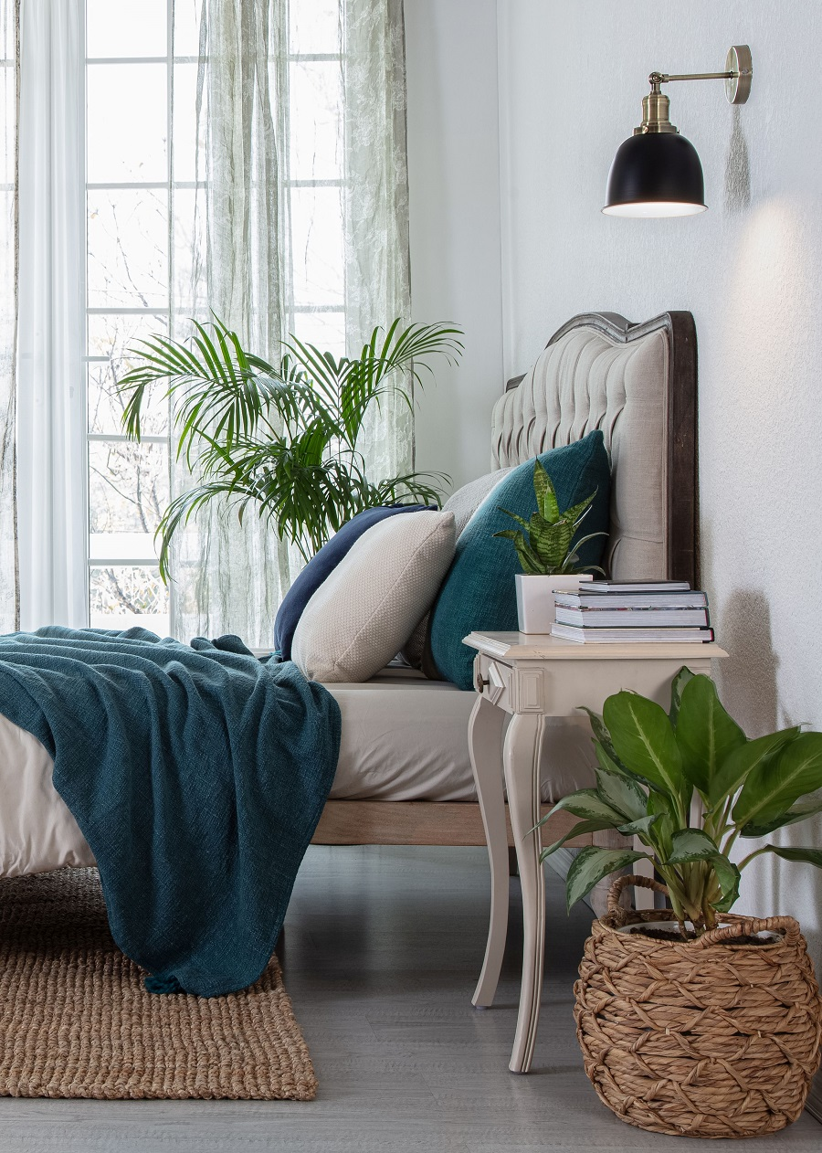 An Elegant and Comfortable Bedroom to Hibernate In - Get The Look