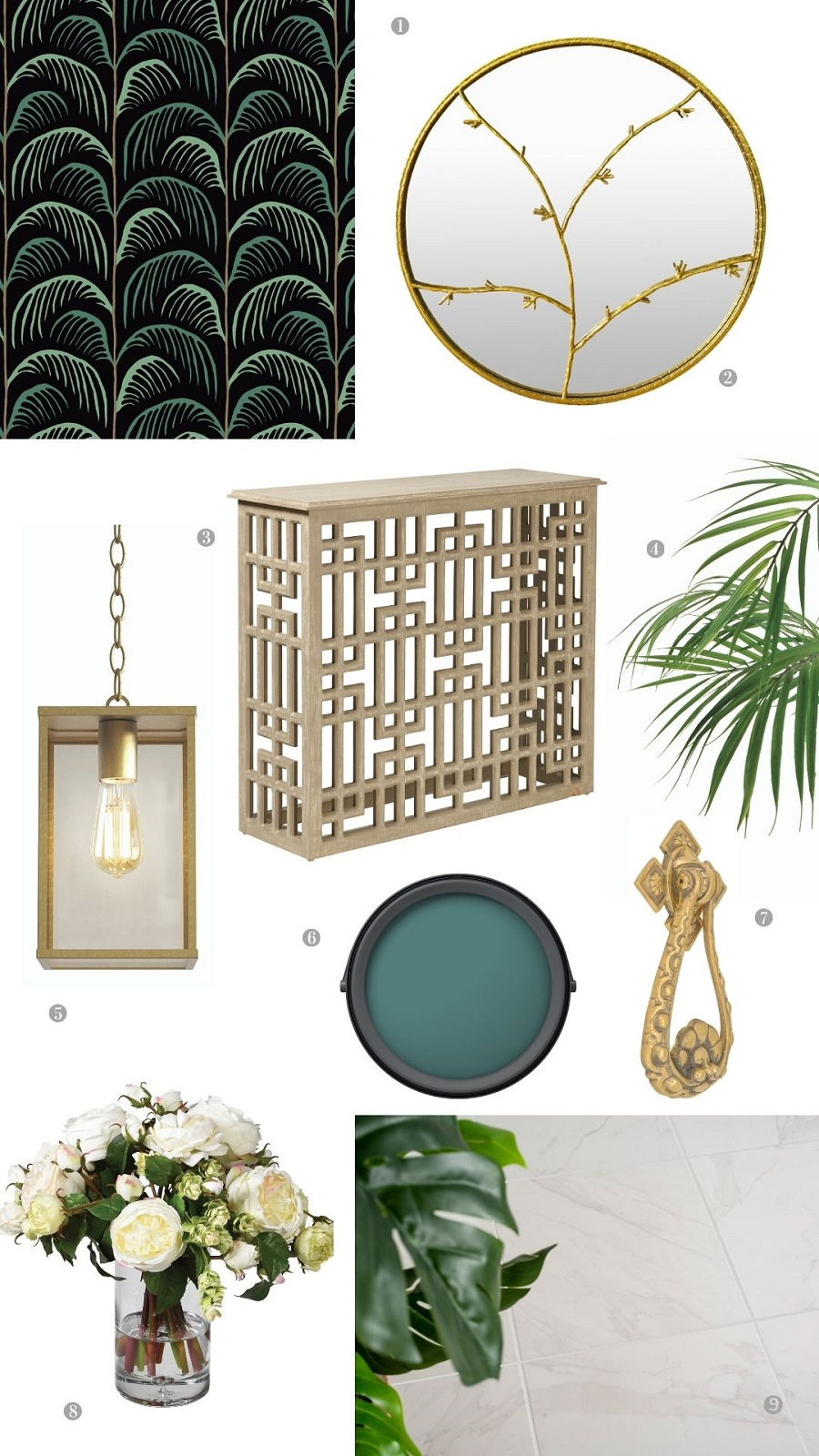 An Uber Glamorous Hallway and How to Get The Look
