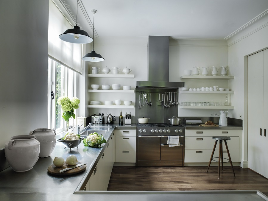 Two Recently Completed Contemporary Kitchens That Feature Beautiful Antiques