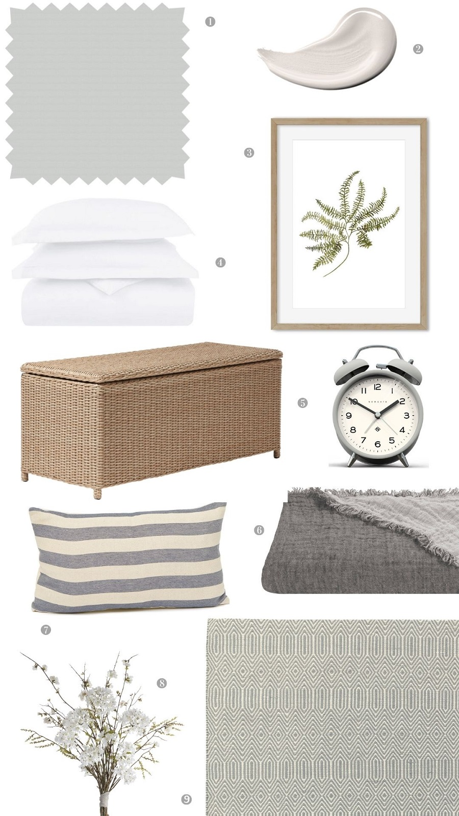 A Fresh New Bedroom Scheme for Spring and How to Get The Look