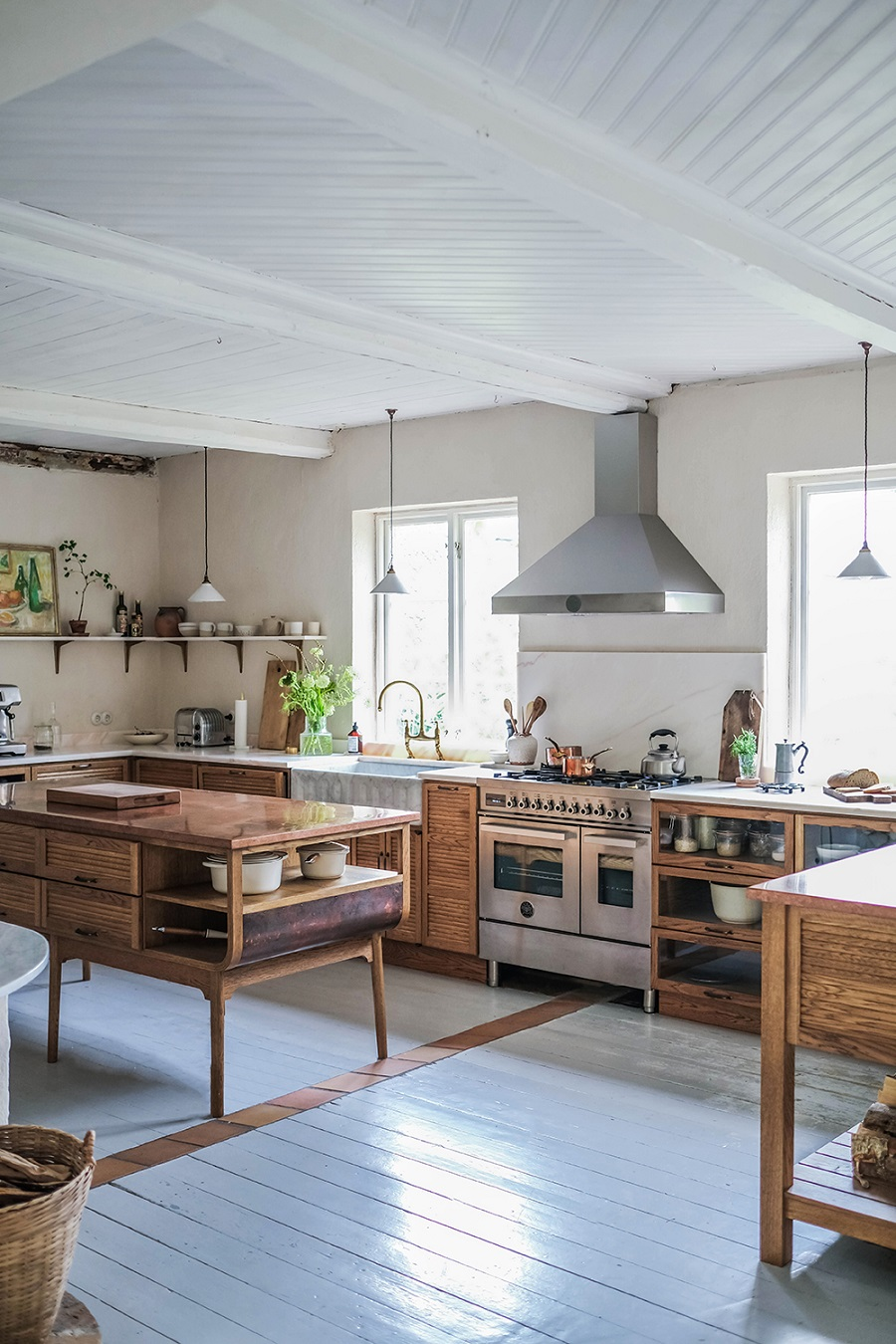 A Light and Airy Scandinavian Home with the Warmest of Kitchens