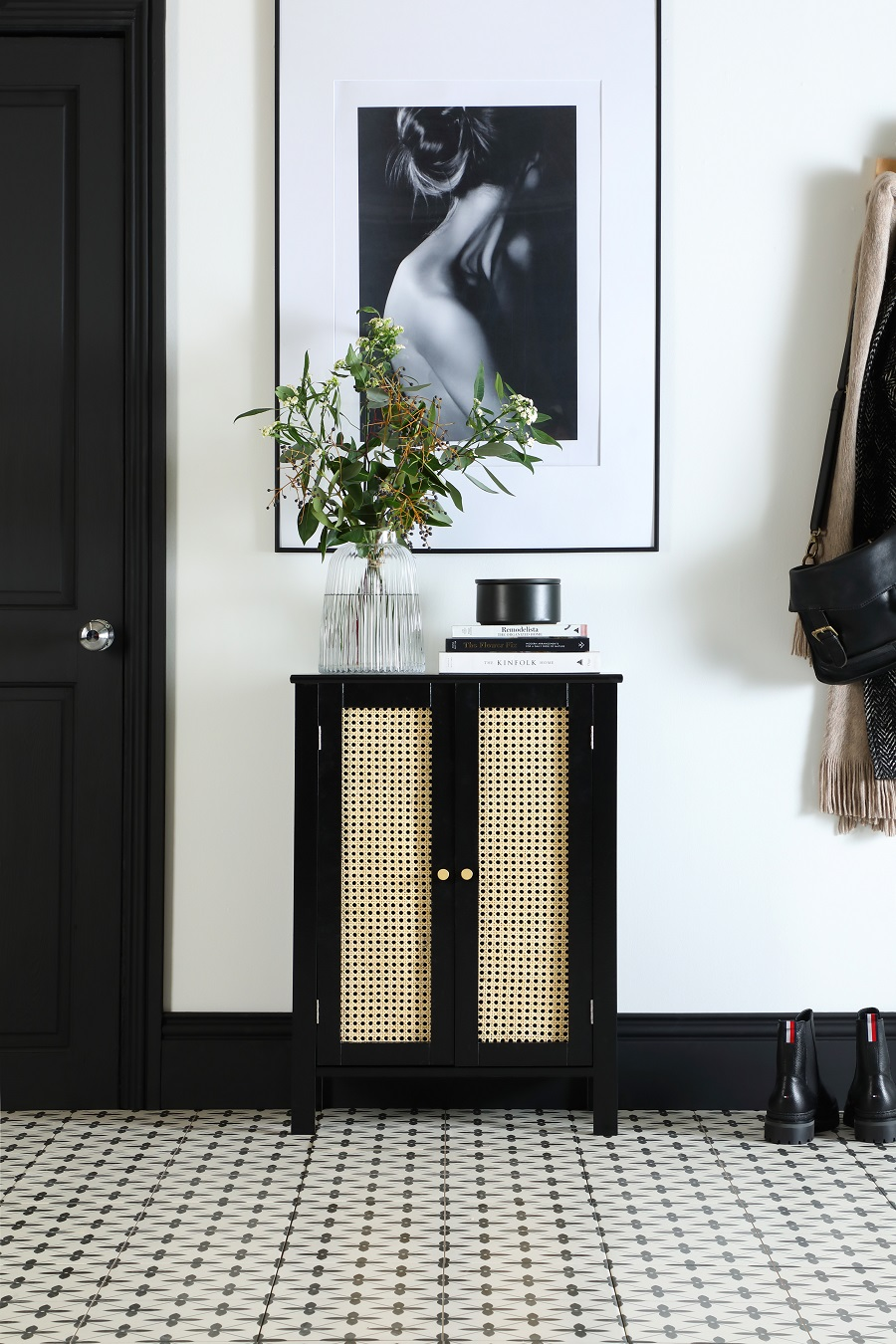 Create Your Own Designer-Worthy Rattan Sideboard With This Easy DIY