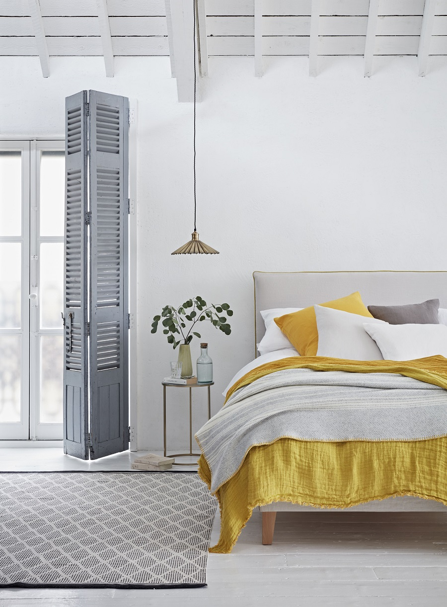 Add a Splash of Spring To The Bedroom With Sunshine Yellow