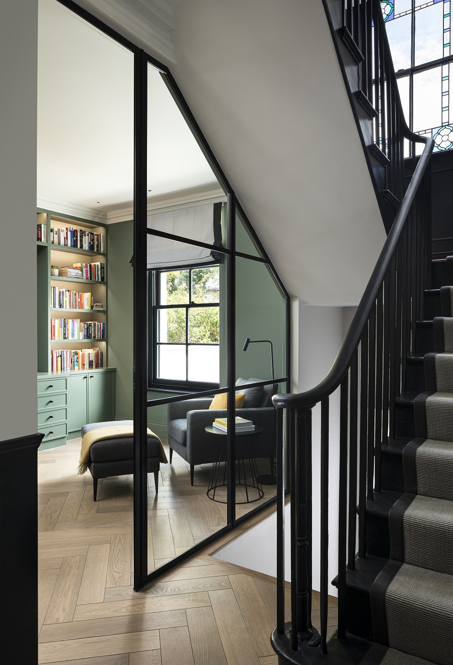 The Power of Contrast in a Newly Refurbished Georgian Terrace House