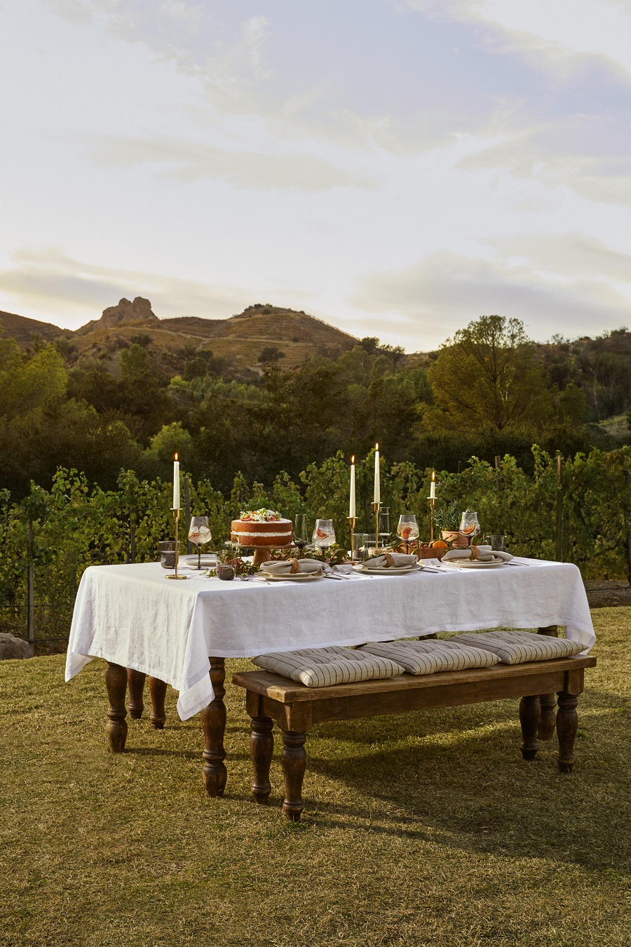 Outdoor Dining Inspiration from H&M Home