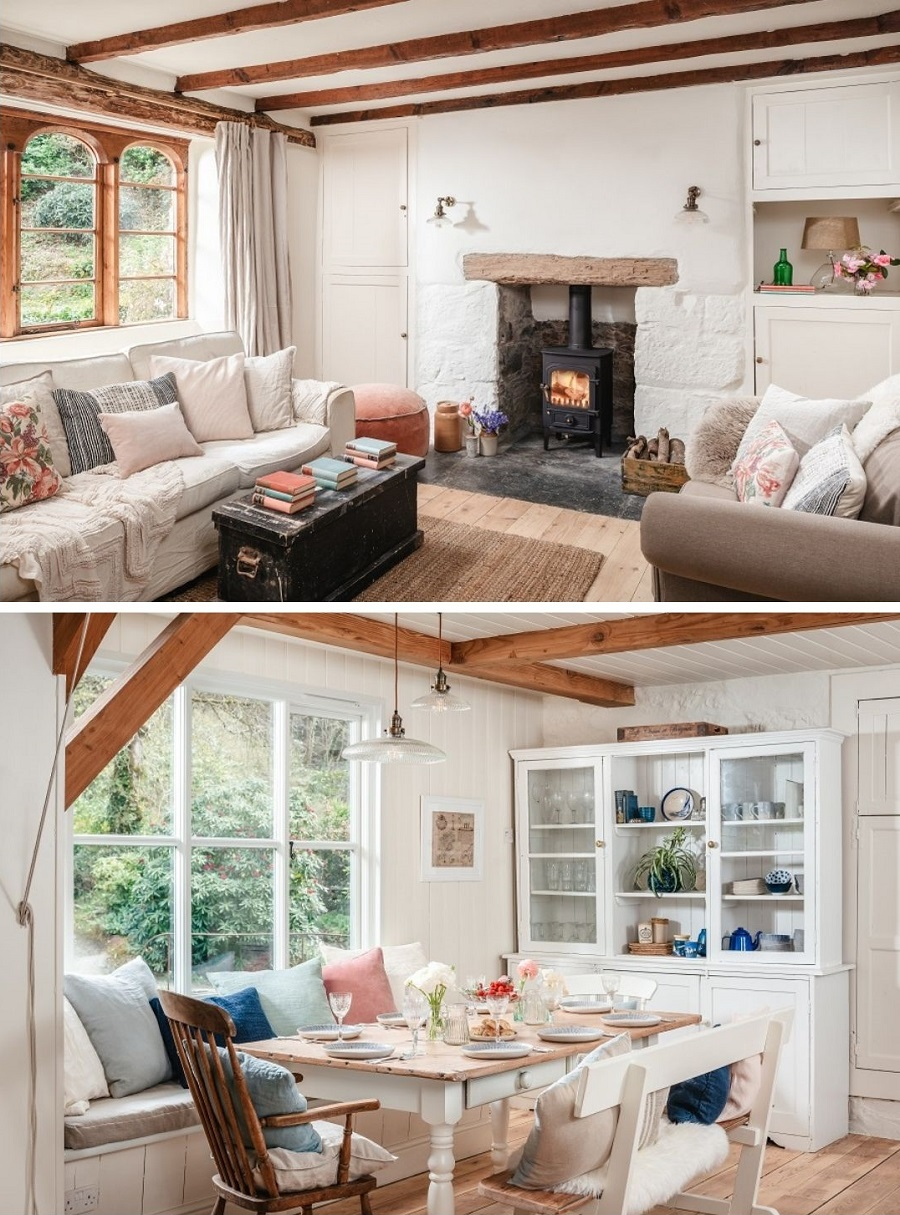 A Real Cornish Home in a Fairy-Tale Setting