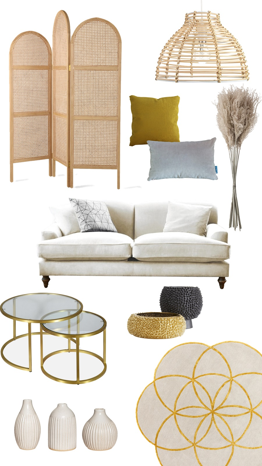 Contemporary Curves in the Sitting Room - Get The Look