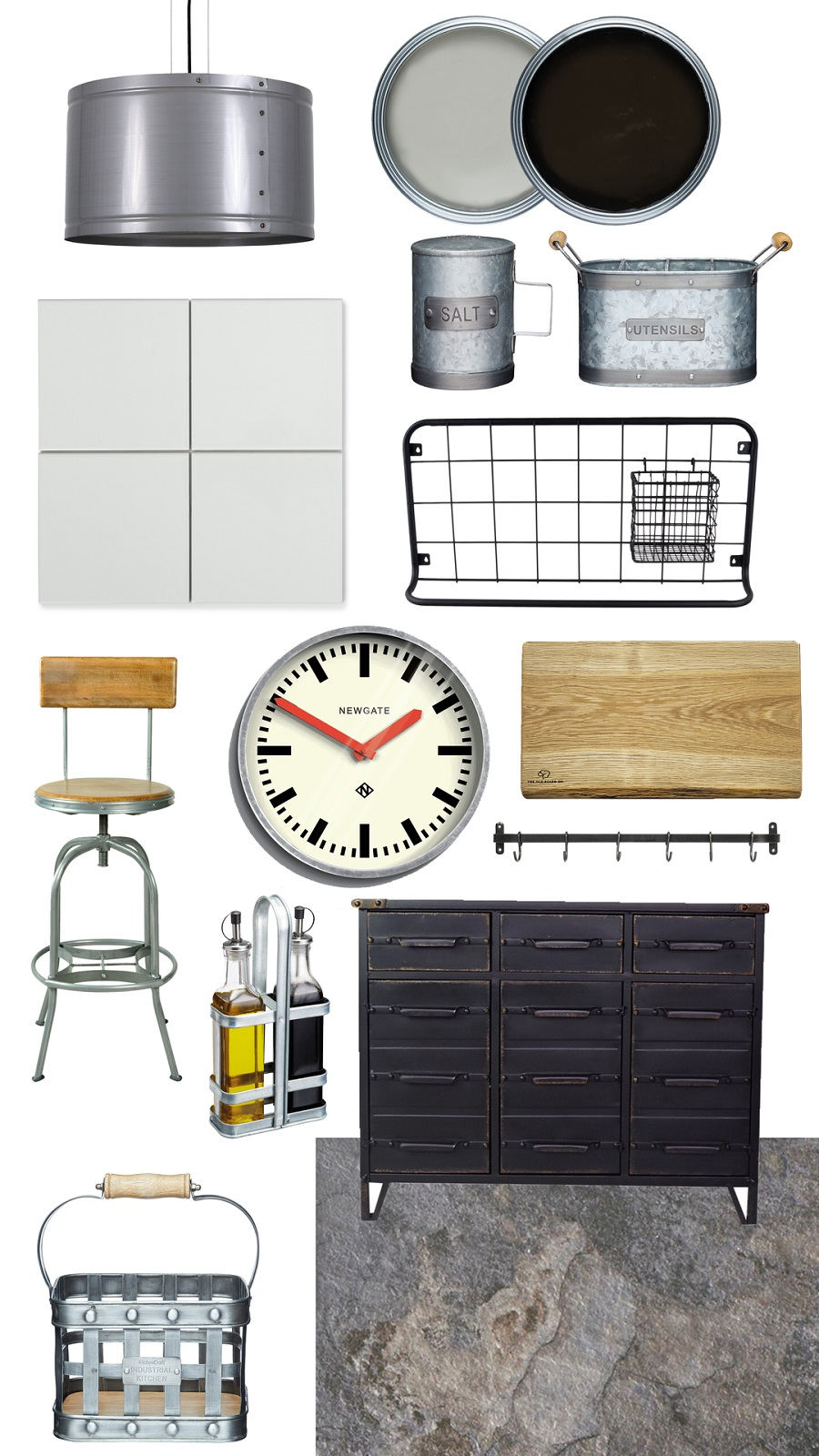 Introduce Some Industrial Style into The Kitchen