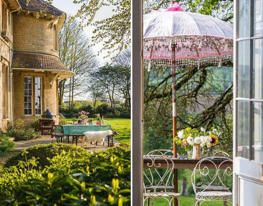A Large Country House Full of Bohemian Extravagance